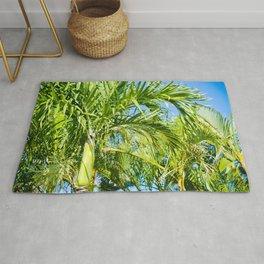 Keanae Palms Maui Hawaii Aloha Rug