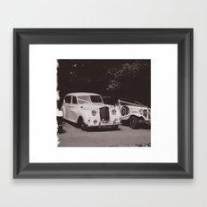 Wedding Cars Framed Art Print