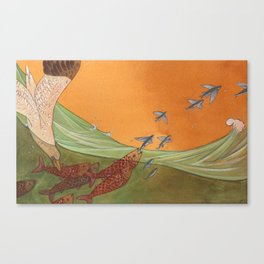 A Change in Tide Canvas Print