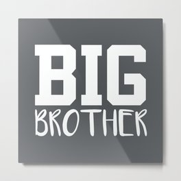 Big Brother, Pregnancy Reveal Metal Print