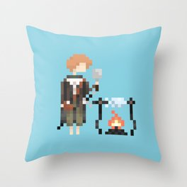 Samwise the Brave Throw Pillow