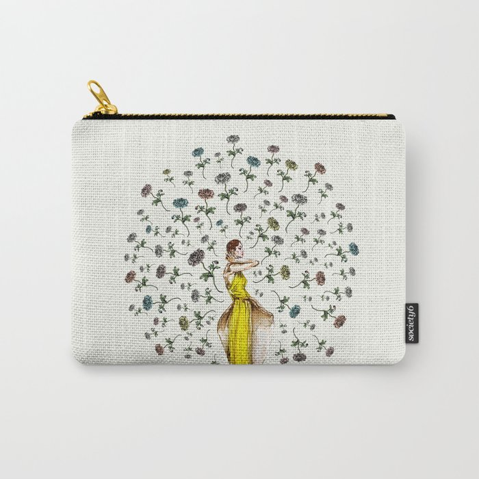 Paris Summer | The Flower Girl Carry-All Pouch