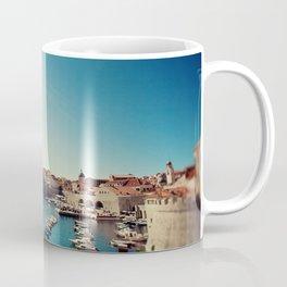 Old Town Harbor - Dubrovnik, Croatia Coffee Mug
