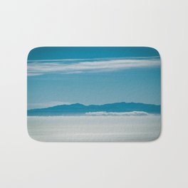 Somewhere Over the Clouds Bath Mat