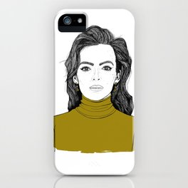 Lady Jodie iPhone Case