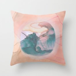 Perception Abstract Throw Pillow