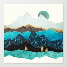 Teal Afternoon Canvas Print