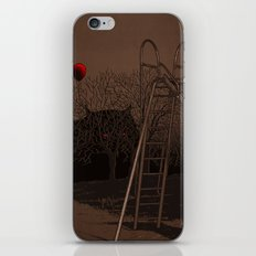 when monster can't live happy forever iPhone & iPod Skin