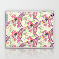 Paper Cut Birds [light] Laptop & iPad Skin