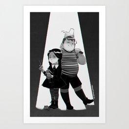 Well-Behaved Kids Art Print