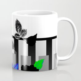 Chintz Rose Orange & Green Coffee Mug