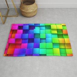 Cubos coloridos Rug