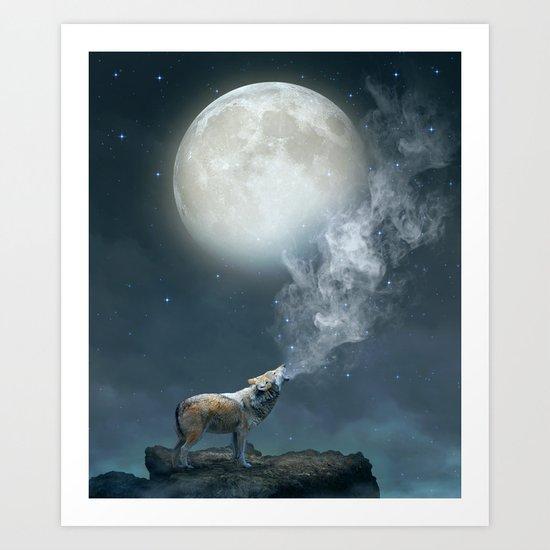 The Light of Starry Dreams Art Print