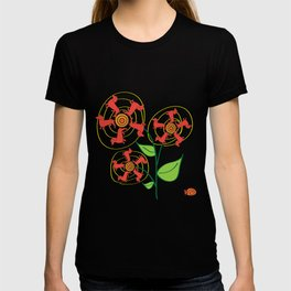 Doxie Flower T-shirt