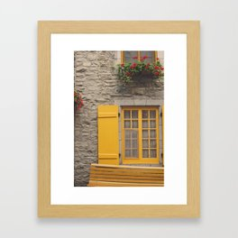 Quebec Framed Art Print