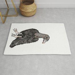 Black Vulture Rug