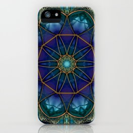 Moonstone Mandala iPhone Case