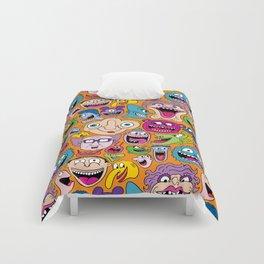 Creepy Smiles Pattern Comforters