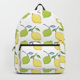 lemon and lime Backpack