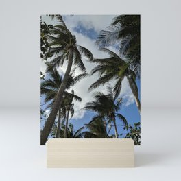 Palm paradise Mini Art Print