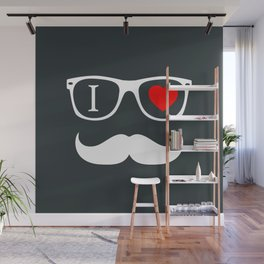 Hipster Wall Mural