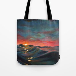 Before The Night Storm Tote Bag