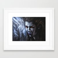 starcraft Framed Art Prints featuring Kerrigan  by Kanelov