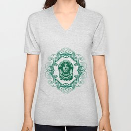 Haunted Mansion - In Regions Beyond Now Unisex V-Neck