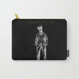 "James Joyce - sketch; (Bloomsday - ""Ulysses"") - black bg Carry-All Pouch"