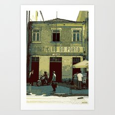 sport club do porto Art Print