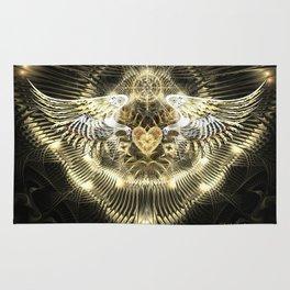 Gold Wings Rug