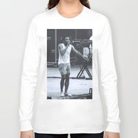 childish gambino Long Sleeve T-shirts featuring gambino can sing (Childish Gambino) by bryantwashere
