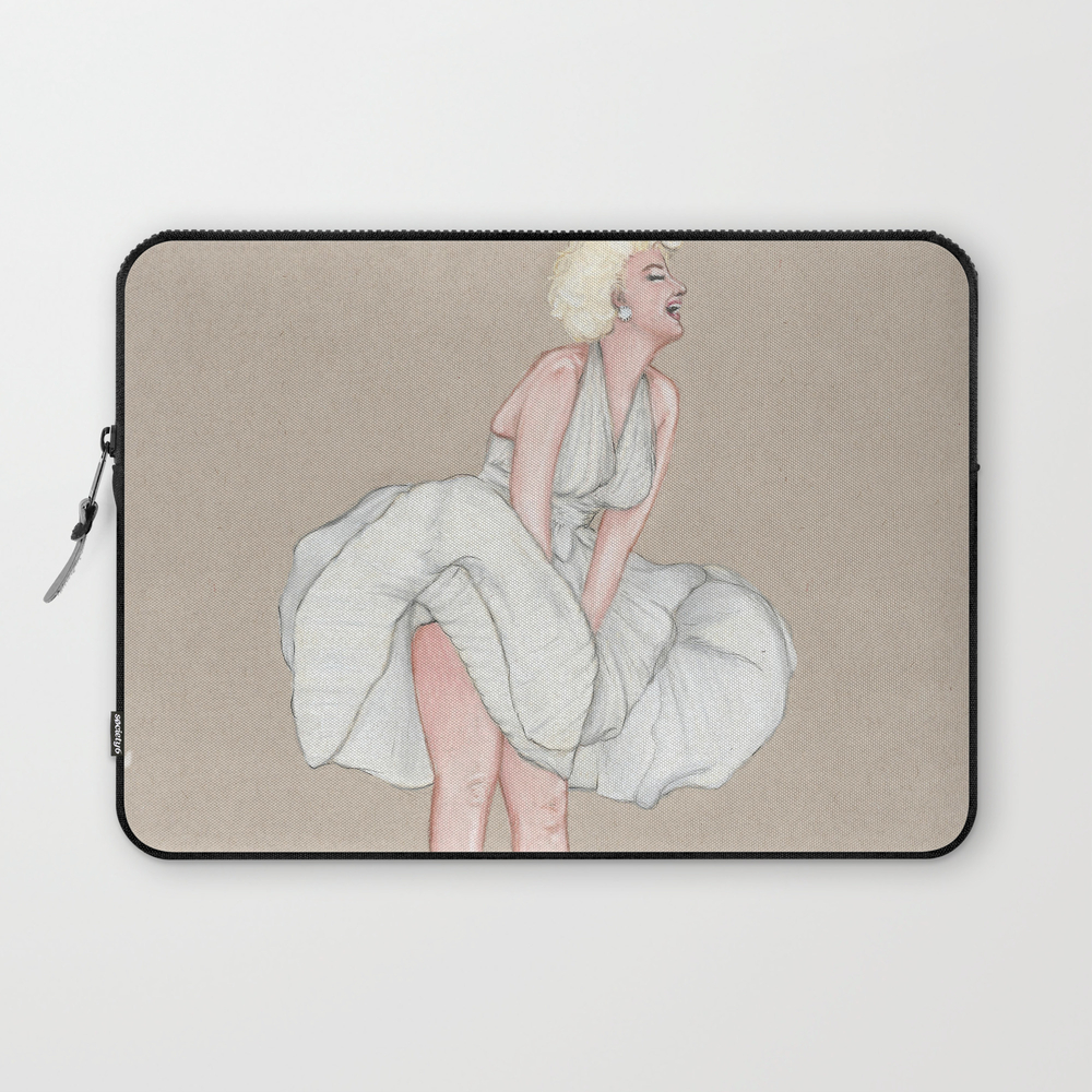 Marilyn Seven Year Itch Laptop Sleeve LSV8443557