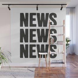 News News News Wall Mural