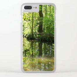 South Carolina Wetlands Clear iPhone Case