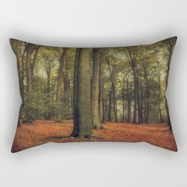 october beeches Rectangular Pillow