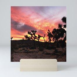 Joshua Tree Sunset Mini Art Print