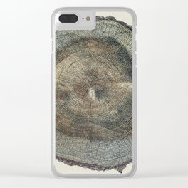 Stump Rings Clear iPhone Case