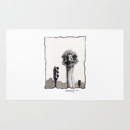 Avestruz / Ostrich Rug