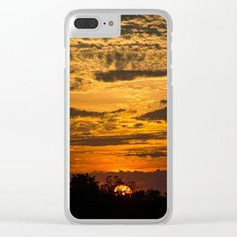 Cloudy Colored Skies pt.2 Clear iPhone Case