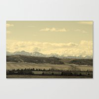 canada Canvas Prints featuring Canada by J.Sowden