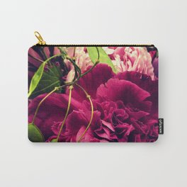 Peonies and Vine Carry-All Pouch