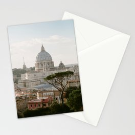 St. Peter's Basilica at Sunset Stationery Cards