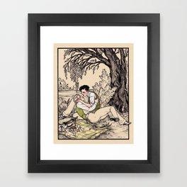 Contra Mundum Framed Art Print