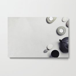 relaxation background Metal Print
