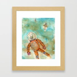 Droning On and On Framed Art Print