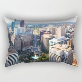 Philadelphia City Rectangular Pillow