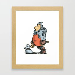 Soldier Framed Art Print
