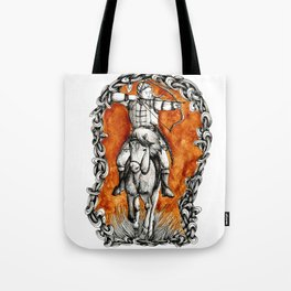 The fair huntsman Tote Bag