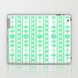 Mint Tribal Pattern Laptop & iPad Skin